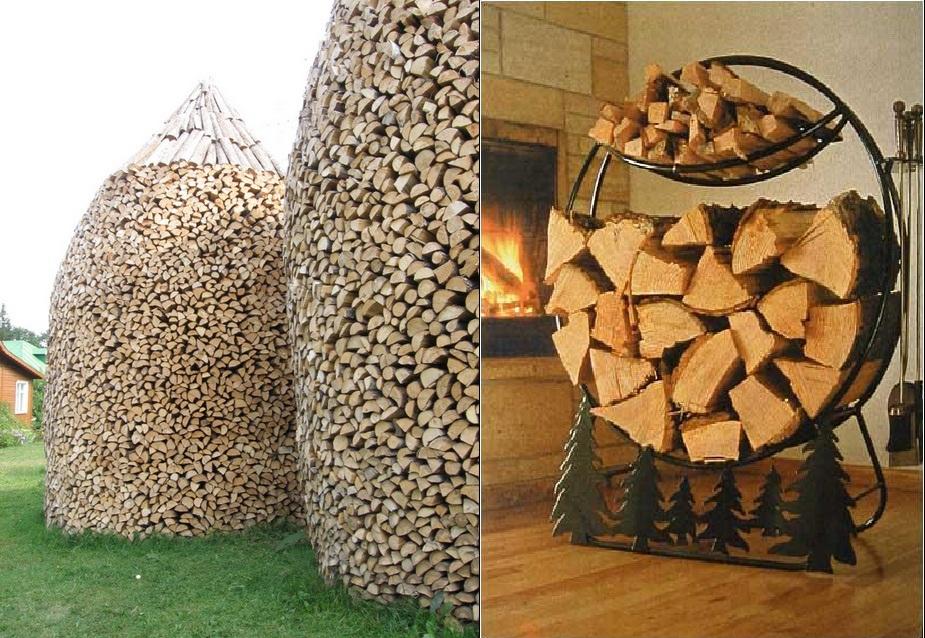 Как сделать с опилок дрова